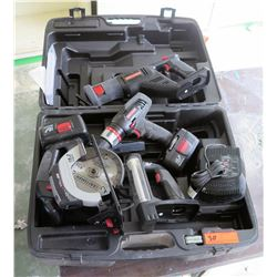 Misc. Craftsman Power Tools w/ Case (RM-207)
