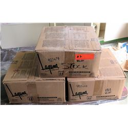 3 Boxes 50 lbs Laguna Clay Co Axner Moist Clay (RM-207)