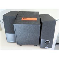 BOSE Companion 2 Series Speaker & Philips Speaker (RM-302)