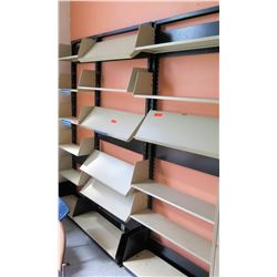 Wall Mounted Flat & Slanted Adjustable Document Shelving (RM-302)