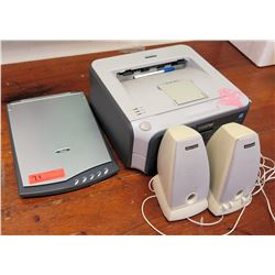 Flatbed Scanner, Printer, and Speakers (RM-301)