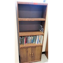 Wooden Shelf and Contents (RM 65-84)
