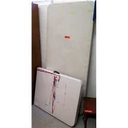 Qty 2 Folding Tables (RM 65-84)
