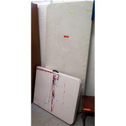 Qty 2 Folding Tables (RM-301)