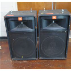 Qty 2 Large JBL Hanging Speakers (RM-Theater)