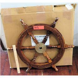 Wooden Ship Wheel (RM-Theater)