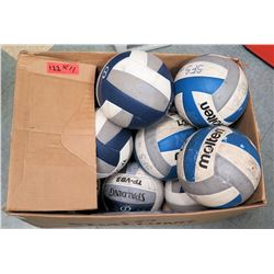Qty 11 Volleyballs (RM-Gym)