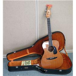 Fender Avalon Acoustic Guitar w/ Yamaha Case (RM-Music)