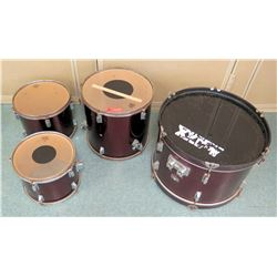 Maxx SP Series Drum & 3 Remo Drums (RM-Music)