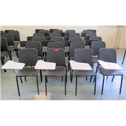 Qty 20 Chairs w/ Fold-Back Desktop (RM-Music)