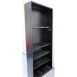 "Large Metal Shelving Unit 36""W x 12""D x 87""H (RM-Music)"