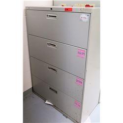 HON 4-Drawer File Cabinet (RM-Music)