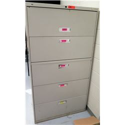 HON 5-Drawer Lateral File Cabinet (RM-Music)