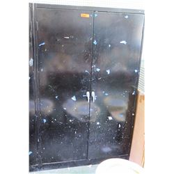 Large Metal 4-Shelf Storage Cabinet (RM-207)
