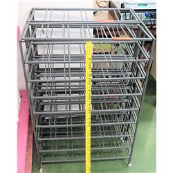 Qty 2 Metal Wire Racks (RM-101)