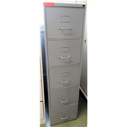 Vertical 5-Drawer File Cabinet (RM-101)