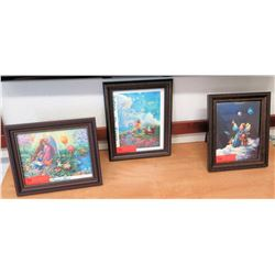 "Framed Children's-Theme Prints (largest is 13"" x 10.5"") (RM-101)"