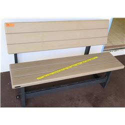 Plastic Adjustable Bench (outside RM-101)
