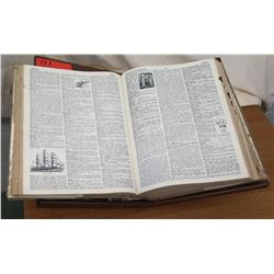 Dictionary w/ Wooden Book Stand (RM-114)