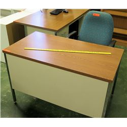 Desk & Rolling Office Chair (RM-113)