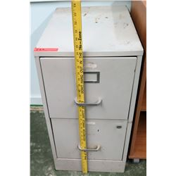 2-Drawer Metal File Cabinet (RM-CampMin)