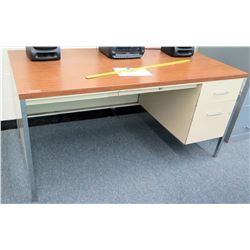 Wood & Metal Desk (RM-124)