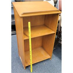 Wooden Podium w/ Shelving (RM-124)