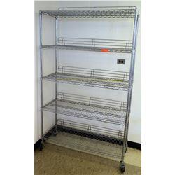 Rolling Metal Storage Rack (RM-223)