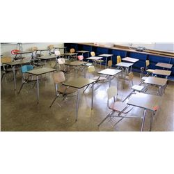 Qty 20 Desks with Chairs (RM-224)