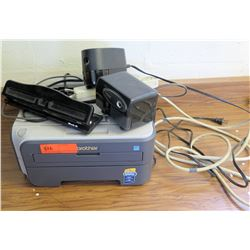 Printer w/ Pencil Sharpeners and Supplies (RM-224)