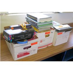 Misc. Textbooks and Document Camera (RM-224)