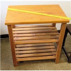 Wooden Shelving Unit (RM-224)