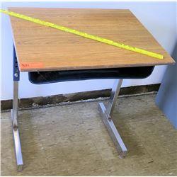 Wooden Desk w/ Metal Frame (RM-224)