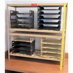 Shelving Unit w/ Paper Trays (RM-226)