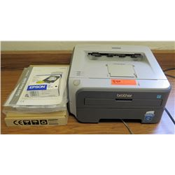 Brother Laser Printer & Epson Ink Cartridge (RM-226)