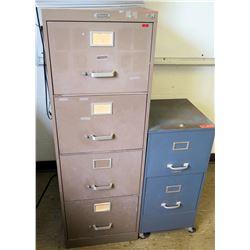 4-Drawer File Cabinet & 2-Drawer File Cabinet (RM-226)