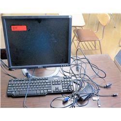 Dell Monitor w/ Keyboard (RM-321)