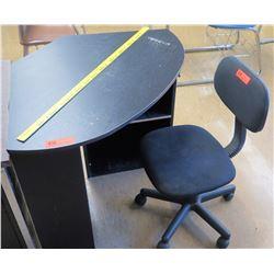 Corner Desk w/ Rolling Chair (RM-321)