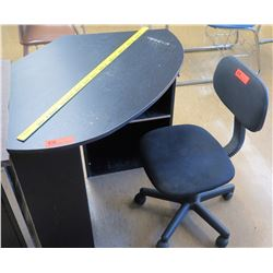 Corner Desk w/ Rolling Chair (RM-321)