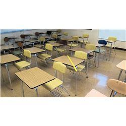 Qty 23 Desks w/ Chairs (RM-321)