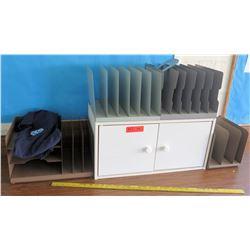 Mini 2-Door Cabinet w/ Paper Organizers (RM-322)
