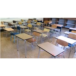 Qty 23 Desks w/ Chairs (RM-322)