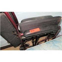 Foldable Transport Wheelchair (RM-407C)