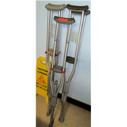 Qty 3 Sets of Crutches (RM-407C)