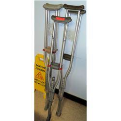 Qty 3 Sets of Crutches (RM-407C)