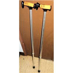 Qty 2 Walking Canes (RM-407C)