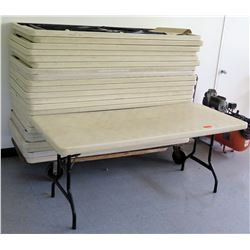 Approx. 25 Plastic Folding Tables (RM-Stdnt Center)