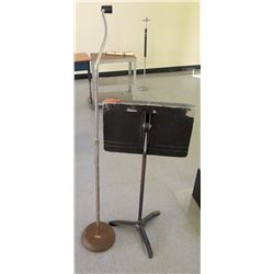 Music Stand and Microphone Stand (RM-Stdnt Center)