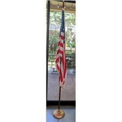 American Flag and Stand (RM-Stdnt Center)