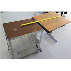 Metal Rolling Table and Desk (RM-Stdnt Center)